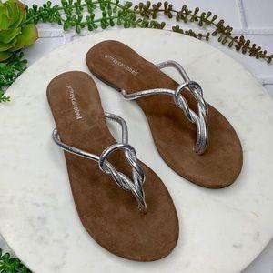 Jeffrey Campbell Malia flip flop leather sandals